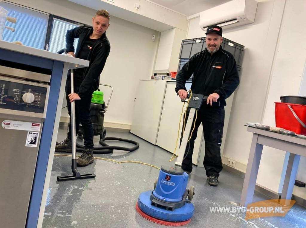 Allround en full service schoonmaakbedrijf BVG Group